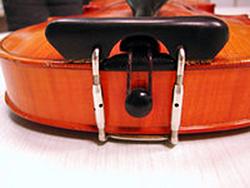 Sonderanfertigung Kinnhalter Barock mit sehr schmaler Kinnauflage online kaufen bei Musikinstrumentenhandel.de